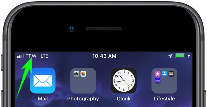 Carrier Name On Your IPhone2